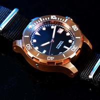 40mm 42mm 44mm 100ATM CuSn8 bronze diving watch